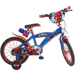 """Immagine di Bicicletta 16"""" Ultimate Spiderman Con 2 Freni"""