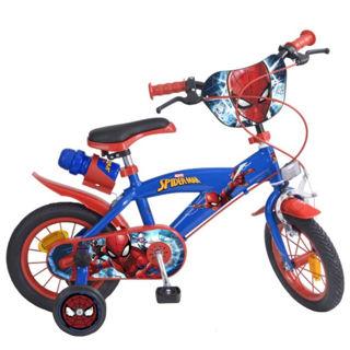 """Immagine di Bicicletta Spiderman Uomo Ragno Marvel 12"""""""