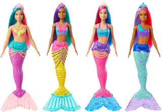 Immagine di Barbie Sirena Dreamtopia Assortita