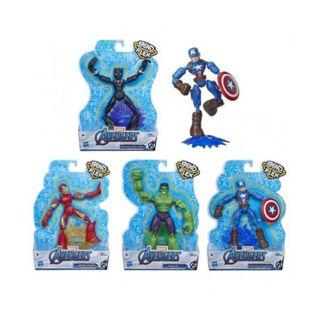 Immagine di Avengers Bend And Flex Personaggi Snodabili 15cm Ast