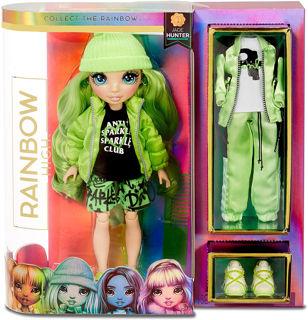 Immagine di Rainbow High Fashion Doll- Jade Hunter