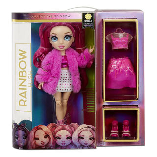 Immagine di Rainbow High Fashion Doll- Stella Monroe (fuschia)