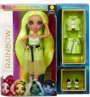 Immagine di Rainbow High Fashion Doll- karma Nichols (neon)