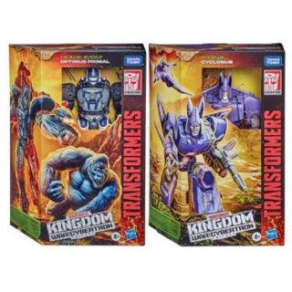 Immagine di Transformers kingdom War Cybertron Voyager Assortiti