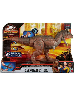 Immagine di Jurassic World Control 'n Conquer Carnotaurus Toro