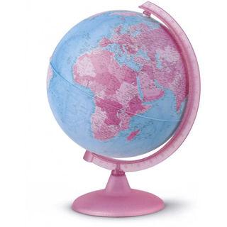 Immagine di Mappamondo 25cm Pink