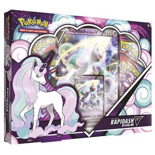 Immagine di Pokemon Collezione V Box Rapidash Galar
