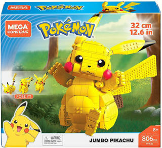 Immagine di Mega Construx Pokemon Jumbo Pikachu - Fvk81