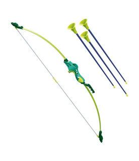 Immagine di Set Arciere Pro In Fibra Di Vetro 96 Cm Con 3 Frecce A Ventosa
