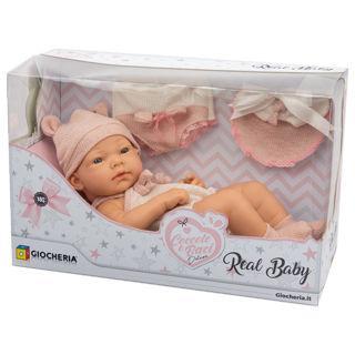 Immagine di Coccole E Baci - Real Baby Con Copertina Con Orecchie