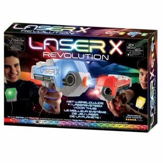 Immagine di Laser x Pistola Deluxe kit 2 Fucili E Ricevitori 90 Metri