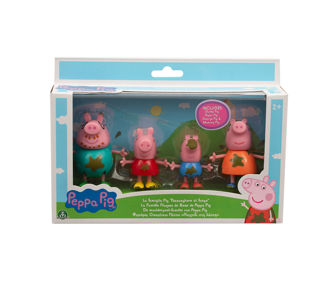 Immagine di Peppa Pig Set Famiglia Nel Fango